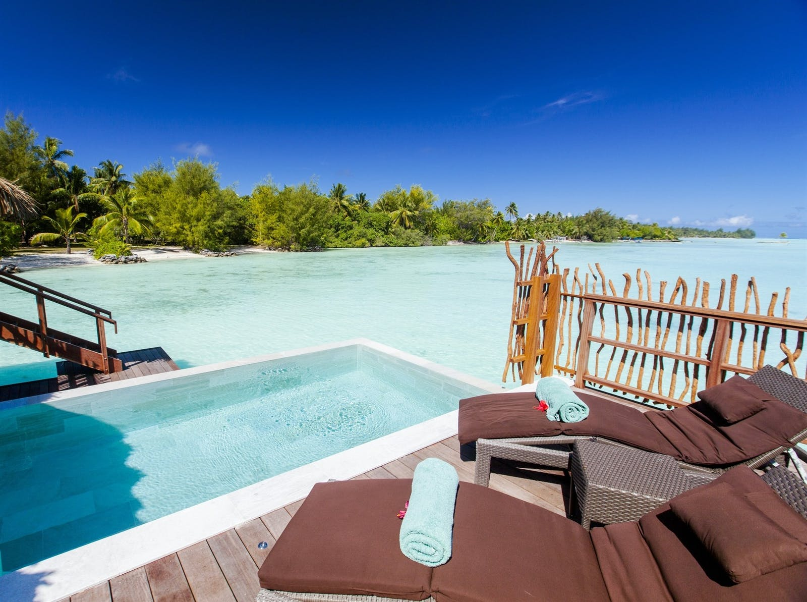 Pool Overwater Villa at InterContinental Bora Bora Resort & Thalasso Spa, French Polynesia