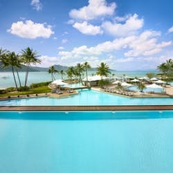 Resort Aerial at InterContinental Hayman Island Resort, Great Barrier Reef Islands