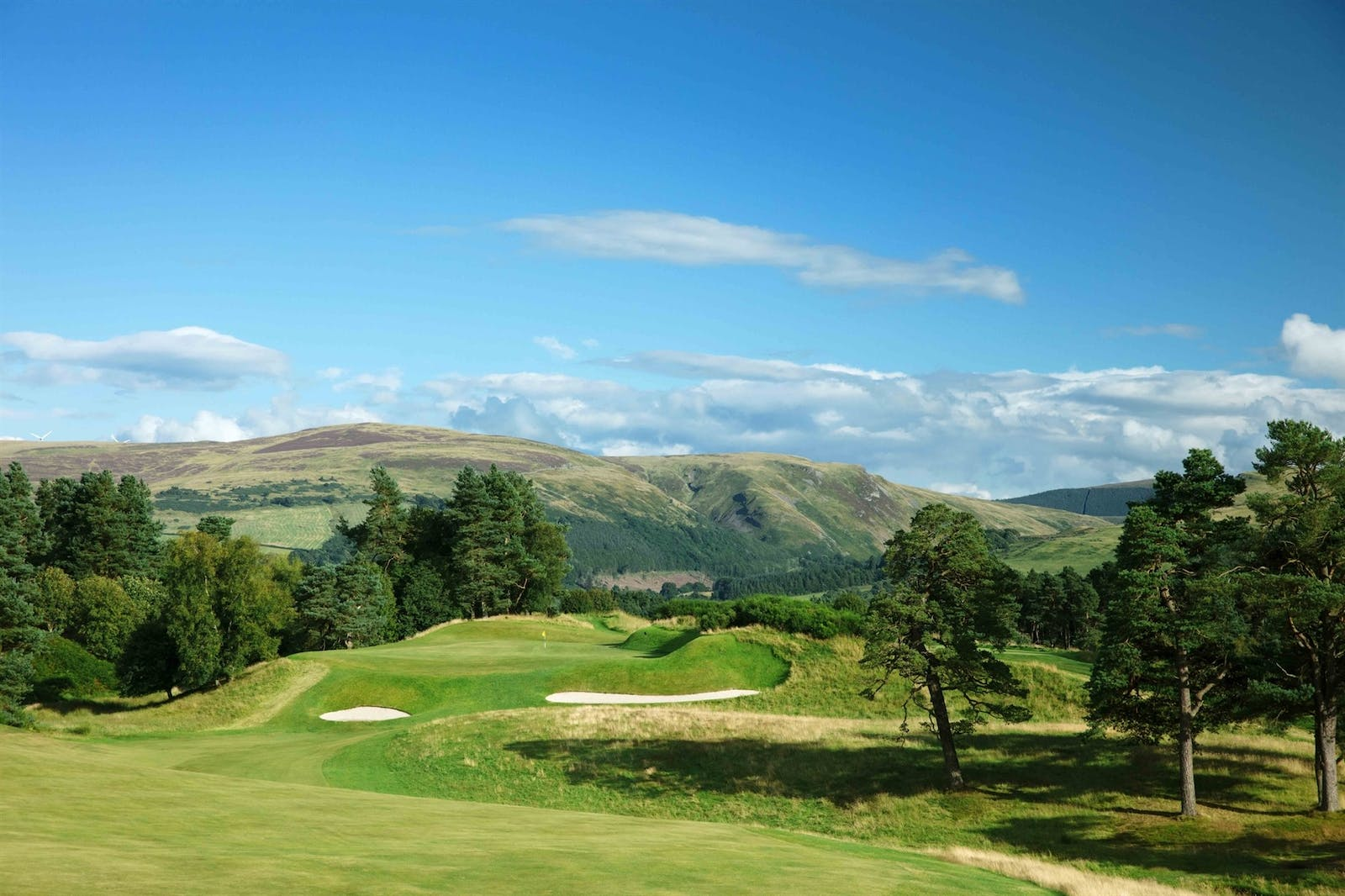 Surroundings at The Gleneagles Hotel, Scotland, UK