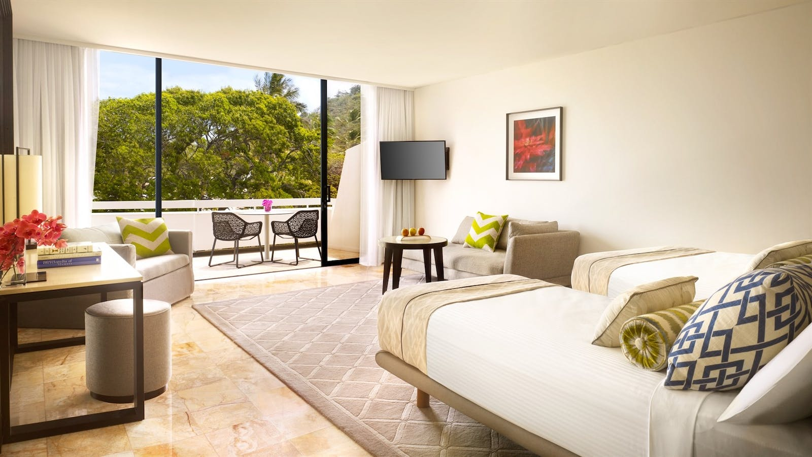 Bedroom at InterContinental Hayman Island Resort, Great Barrier Reef Islands