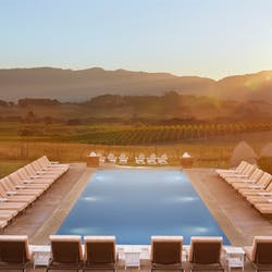Swimming Pool at Carneros Resort and Spa, Napa Valley