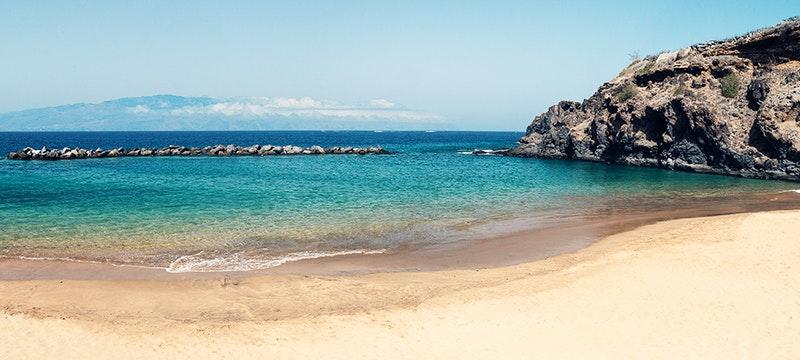 Beach at The Ritz-Carlton Abama, Tenerife
