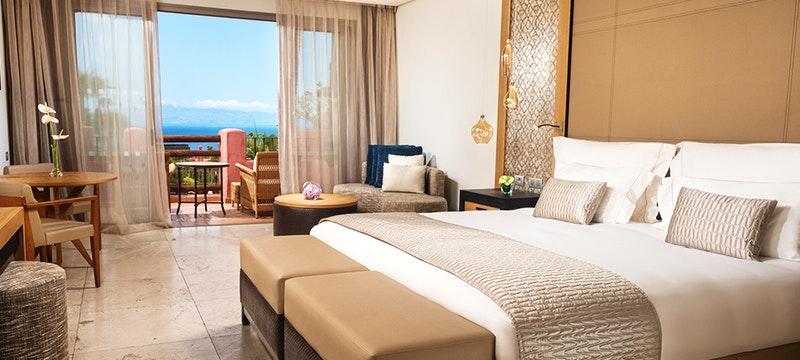 Bedroom at The Ritz-Carlton Abama, Tenerife