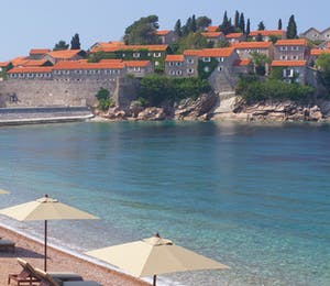 Beach Area at Aman Sveti Stefan