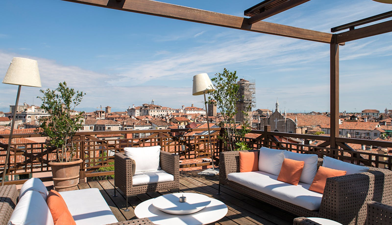 Roof Terrace at Aman, Venice, Italy