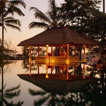 Pool Area at Amandari, Ubud, Bali