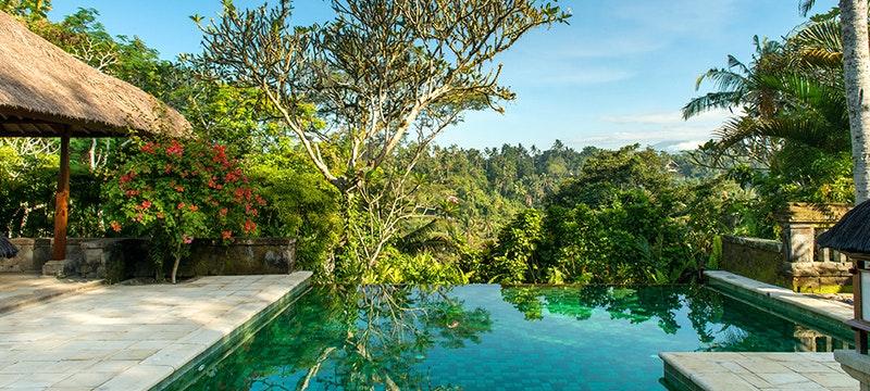 Pool at Amandari, Ubud Bali