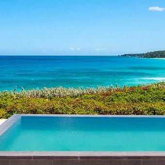 Private pool area in Casita Amanera room at Amanera, Dominican Republic