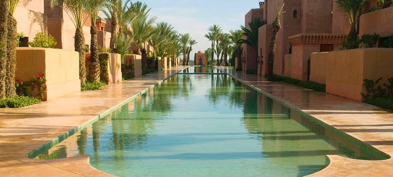 Canal at Amanjena, Marrakech