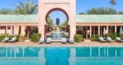 Pool and Property at Amanjena, Marrakech