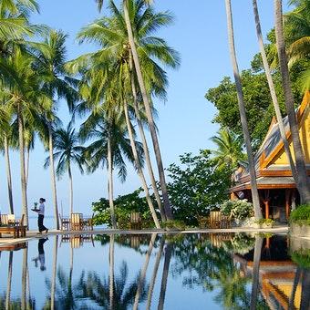 Pool Area at Amanpuri, Phuket