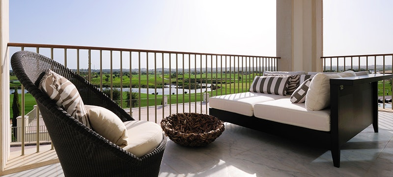 Terrace at Anantara Vilamoura