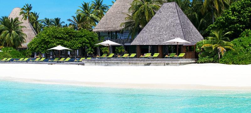 Beach at Anantara Kihavah Villas, Maldives