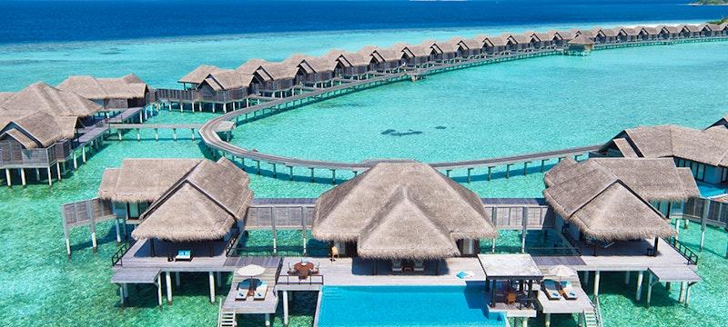 Ariel View at Anantara Kihavah Villas, Maldives