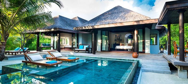 Family Pool Villa at Anantara Kihavah Villas, Maldives
