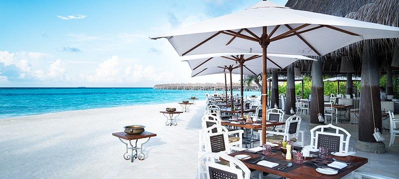 Plates Restaurant at Anantara Kihavah Villas, Maldives