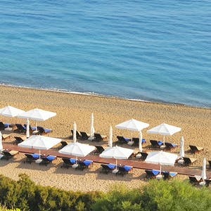 Beach at Anassa, Cyprus