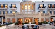 Dining and exterior at Anassa, Cyprus
