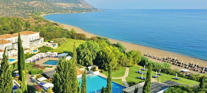 Ariel View at Anassa, Cyprus