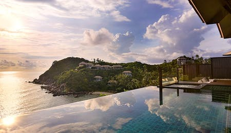 Infinity Pool at Banyan Tree Samui, Thailand