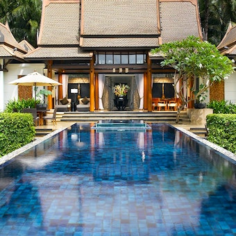 Stunning surroundings at Banyan Tree Phuket, Thailand
