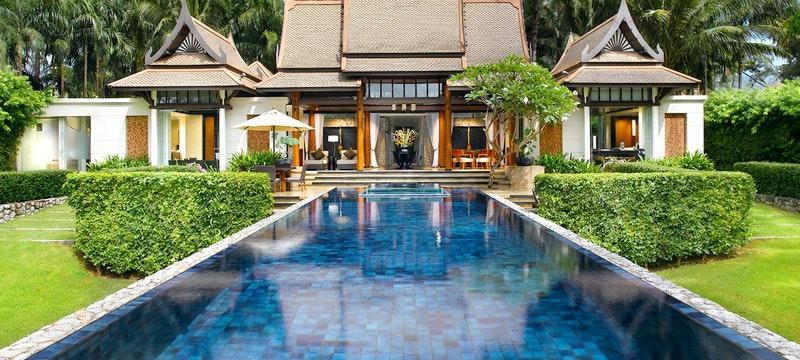 Stunning surroundings at Banyan Tree Phuket, Thailand