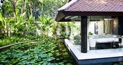 Seating and Pool area at Banyan Tree Spa Sanctuary