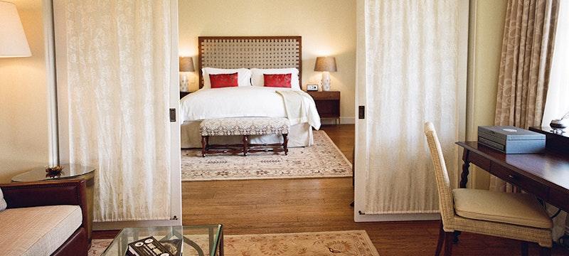 Bedroom at Belmond El Encanto
