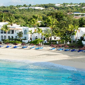 Beach at Belmond La Samanna, St Martin