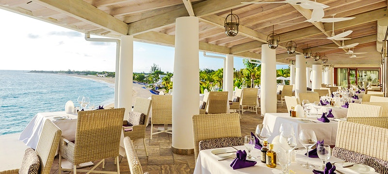Dining Terrace at Belmond La Samanna, St Martin