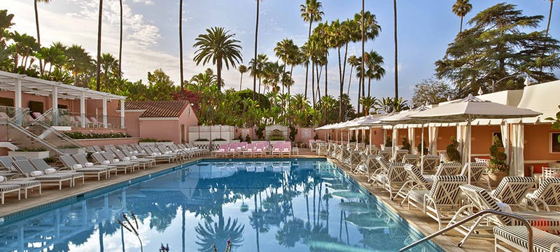 Beverly Hills Hotel - Pool Area