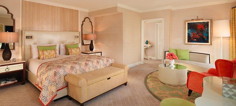 Beverly Hills Hotel - Rodeo Suite Bedroom
