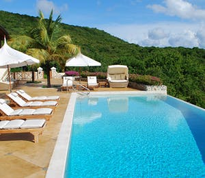 Pool Area at Big Blue Ocean, Canouan