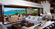 Living Room Area at Big Blue Ocean, Canouan