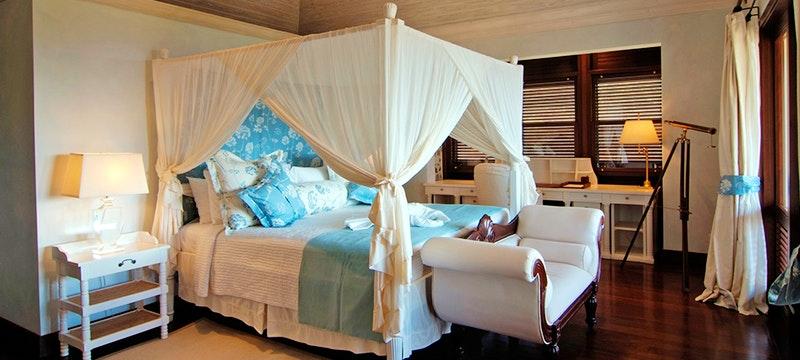 Bedroom at Big Blue Ocean, Canouan