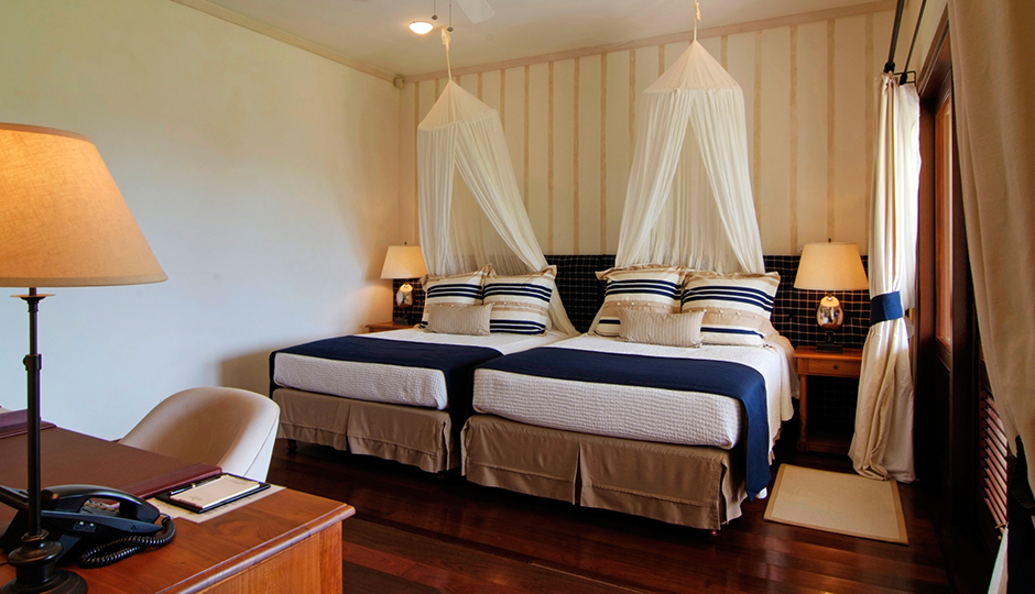 Bedroom at Big Blue Ocean, Canouan