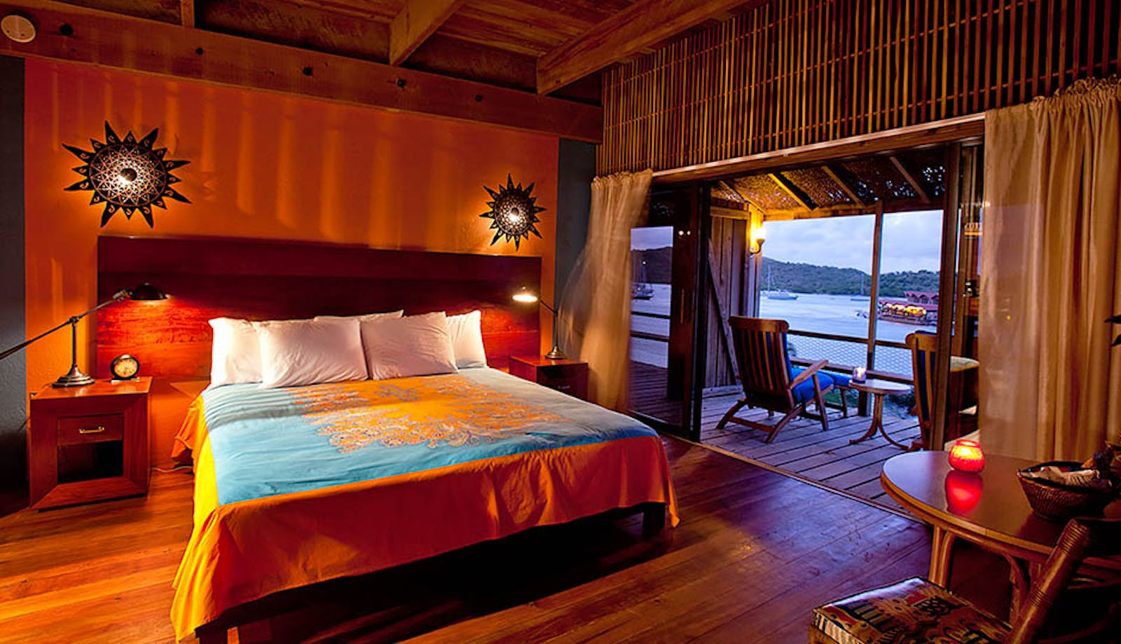 Bedroom at Bitter End Yacht Club, British Virgin Islands