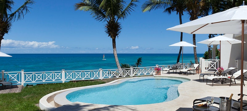 Pelican House Pool at Blue Waters, Antigua