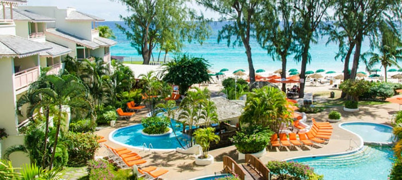 Relax by the pool at Bougainvillea Beach Resort, Barbados
