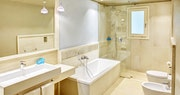 Bathroom at Bouganville Forte Village
