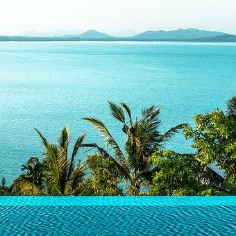 Pool and Sea View at COMO Point Yamu, Phuket