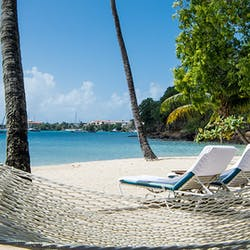Beach Hammock at Calabash Luxury Boutique Hotel & Spa, Grenada