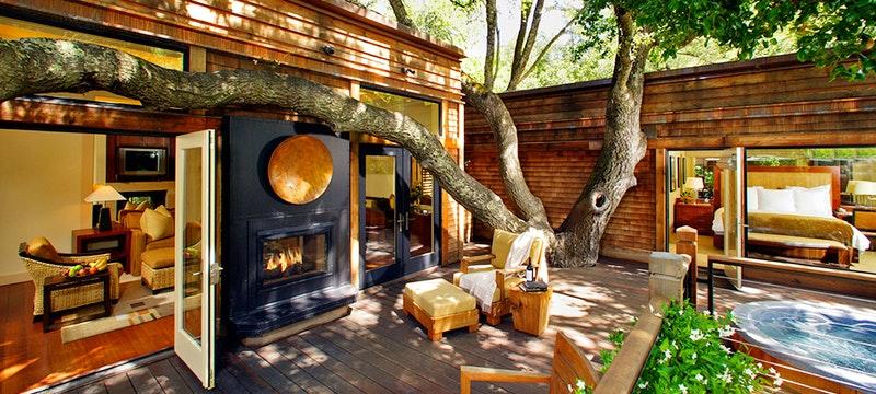 Exterior at Calistoga Ranch