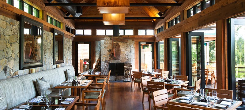 Restaurant at Calistoga Ranch