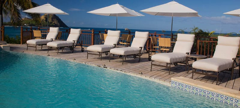 Main pool at Cap Maison, St Lucia