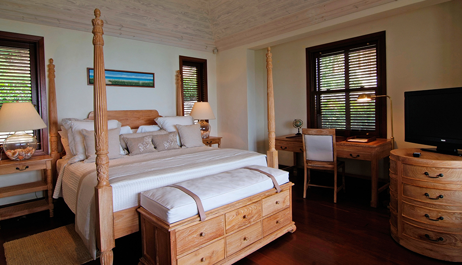 Bedroom at Carenage Villa, Canouan
