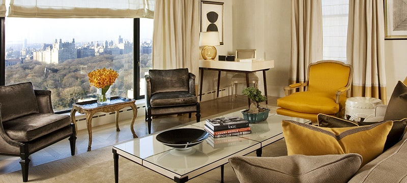 Seating area in Suite at Carlyle, A Rosewood Hotel, New York