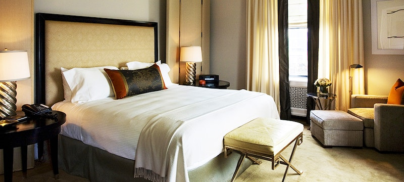 Bedroom at Carlyle, A Rosewood Hotel, New York