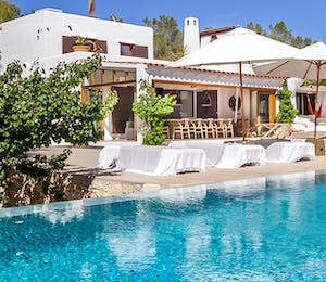 Exterior and Pool Area at Casa Del Jondal, Ibiza, Spain