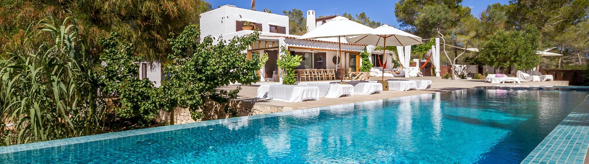 Amazing Exterior And Pool Area At Casa Del Jondal, Ibiza, Spain Nice Ideas
